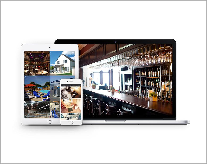 Ecran de contrôle pour videosurveillance - Systeo Protection