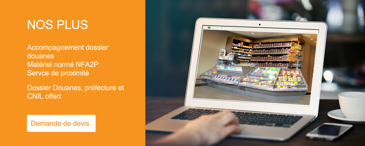 videosurveillance tabac bar restaurant - Systeo protection Amiens Somme